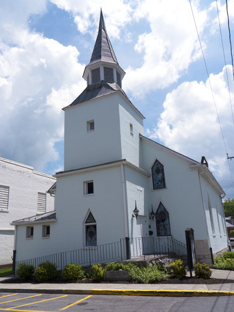 Church in Lewisburg in West Virginia USA