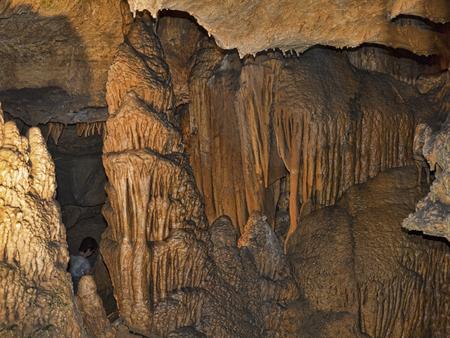 brenda kean: The Fabulous Luray Caverns in Virginia USA Stock Photo