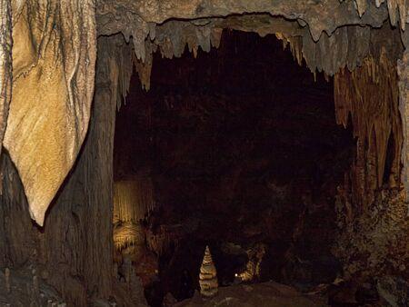 버지니아 미국의 멋진 Luray Caverns