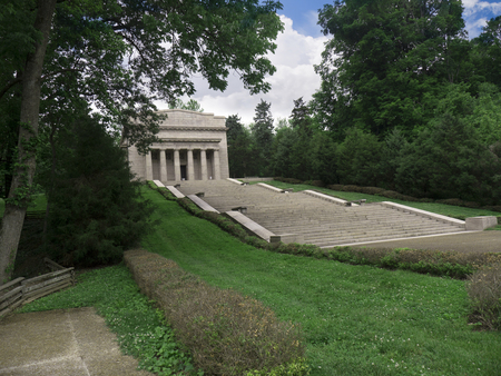 Lincoln Memorial At Sinking Spring Farm Hardin County