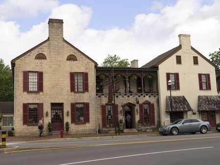 voted: Hotel and Tavern in Bardstown Kentucky the town In 2012 was voted as the Most Beautiful Small Town in America