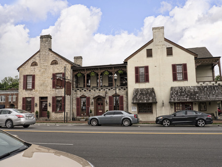 voted: Hotel in Bardstown Kentucky the town In 2012 was voted as the Most Beautiful Small Town in America