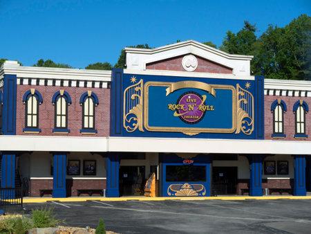 tennesse: Rock and Roll Teatro en Gatlinburg Tennessee EE.UU.