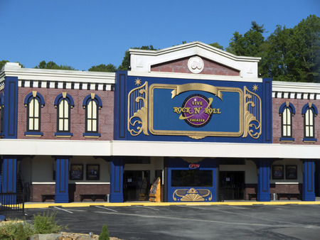 Rock and Roll Theatre in Gatlinburg Tennessee USA