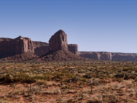 mesas: The Buttes of Monument Valley In Arizona USA Editorial