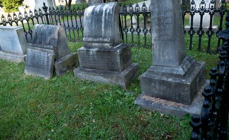 brenda kean: Family graves of Thomas Stonewall Jackson in the Cemetery in Lexington Virginia USA