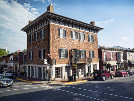Main Street in Lexington Virginia USA