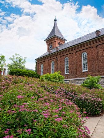 robert: Robert E Lee Chapel and Museum in Lexington Virginia USA
