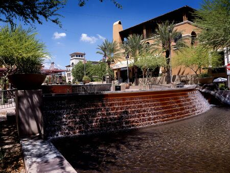 water feature: Water Feature in Scottsdale Arizona