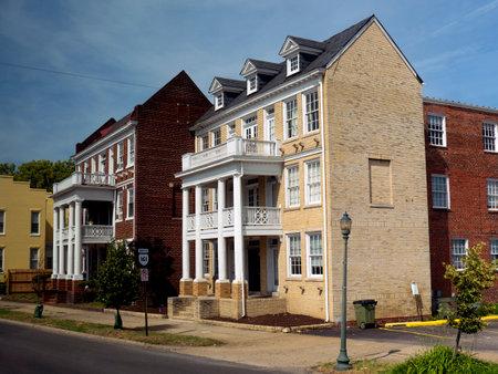 House in Alexandria Virginia USA Redakční