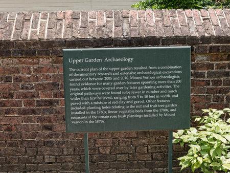 george washington: Mount Vernon fue el hogar de la plantación de George Washington, el primer presidente de los Estados Unidos. La finca está situada en las orillas del río Potomac en el Condado de Fairfax, Virginia Editorial