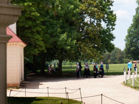 george washington: Mount Vernon fue el hogar de la plantaci�n de George Washington, el primer presidente de los Estados Unidos. La finca est� situada en las orillas del r�o Potomac en el Condado de Fairfax, Virginia Editorial