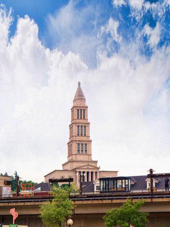 masonic: The Masonic Temple of George Washington in Alexandria Virginia USA