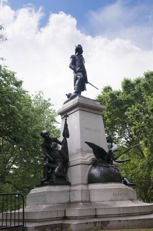 revolutionary war: Kosciuszko was a Polish military engineer and a military leader who became a national hero in Poland, Belarus, and the United States. He fought on the American side in the American Revolutionary War