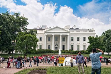 casa blanca: La Casa Blanca en Washington DC en los EE.UU. Editorial