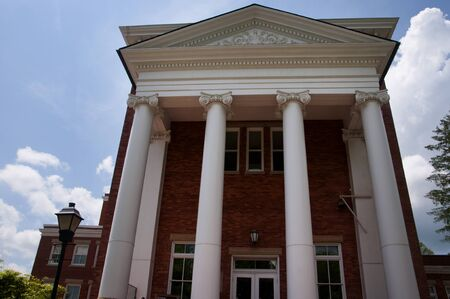 philanthropist: Lewisburg is a small town in West Virginia with a historic park in the Centre and buildings erected by Thomas Carnegie a local philanthropist who built libraries across the world