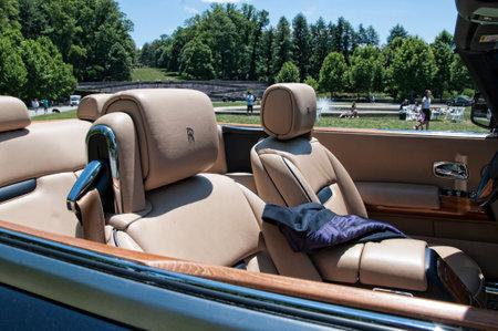 asheville: Luxury Cars at Biltmore in Asheville North Carolina USA