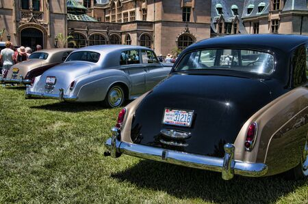 north carolina: Luxury Cars at Biltmore in Asheville North Carolina USA