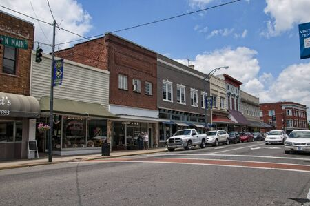 airy: Mount Airy  in North Carolina is also known as Mayberry and it is a town caught in the past when in the 1950s it was used to film the Andy Griffiths Show.