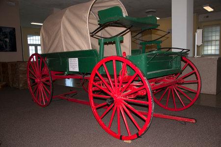 brenda kean: Covered Waggon in Lexington Virginia USA