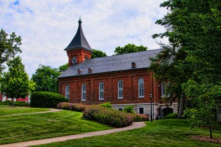 Robert E Lee Chapel and Museum in Lexington Virginia USA