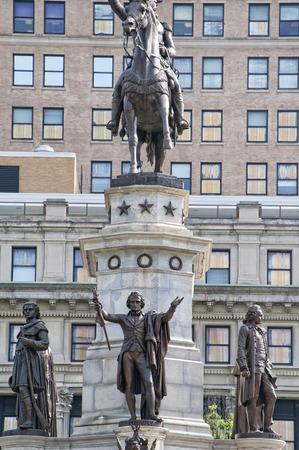 george washington statue: George Washington Statue in Washington DC USA