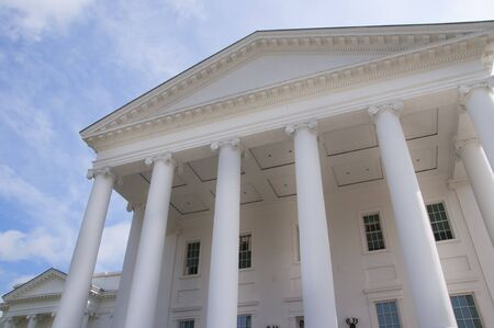 Indrukwekkende Griekse stijl te bouwen op de rand van Washington DC de VS