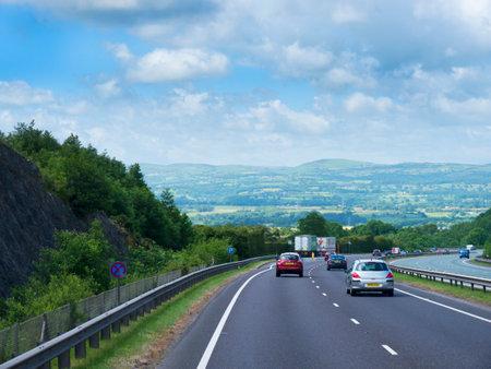 lancashire: The Accrington Bypass in Lancashire England