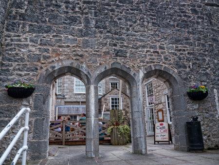 ramparts: Ramparts at Bodelwyddan Castle in North Wales
