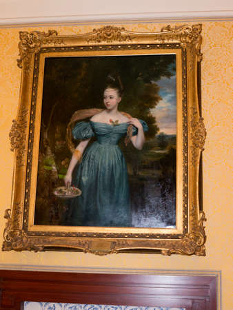 the soprano: Portrait of Singer Soprano Clare Novello 1818  1908