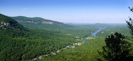 newest: One of NCs newest state parks, Chimney Rock brings the best of the mountains together in one place.