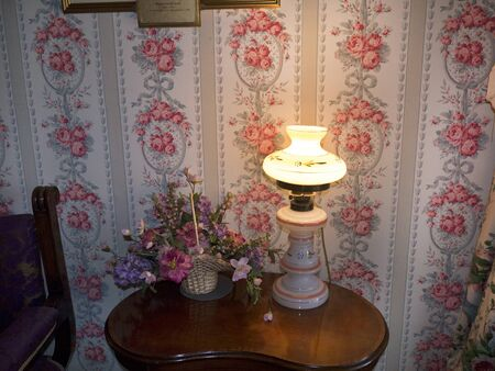 furnishings: Furnishings in Bodelwyddan Castle in North Wales Editorial