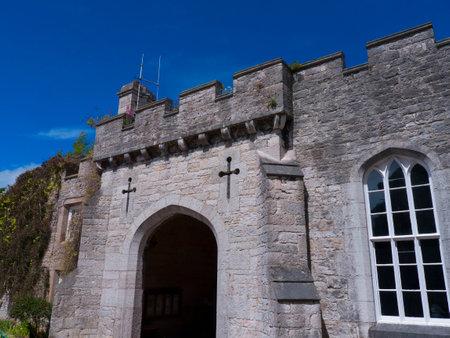 brenda kean: Ramparts at Bodelwyddan Castle in North Wales