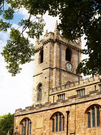 peter's: St Peters Parish Church in Burnley Lancashire