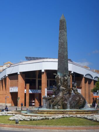'costa del sol': Obelisk in Fuengirola Costa del Sol Spain