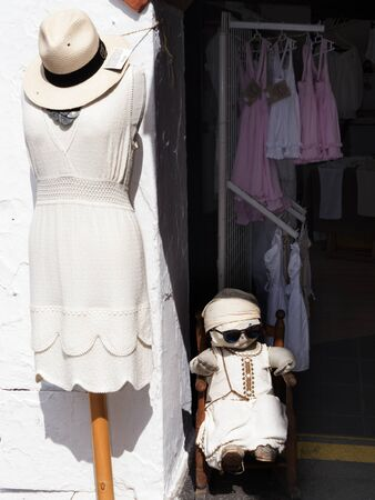 moorish clothing: Mijas is one of the most beautiful white villages of the Southern Spain area called Andalucia. It is in the Alpujarra mountains above the coast