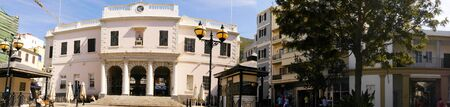 mackintosh: Mackintosh Square On the Rock of Gibraltar at the entrance to the Mediterranean Sea