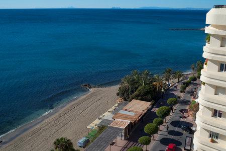 'costa del sol': Beach at Marbella Costa del Sol Spain