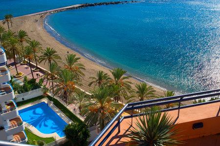 Beach at Marbella Costa del Sol Spain