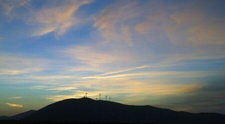 brenda kean: Sunset over Seville Countryside in Spain