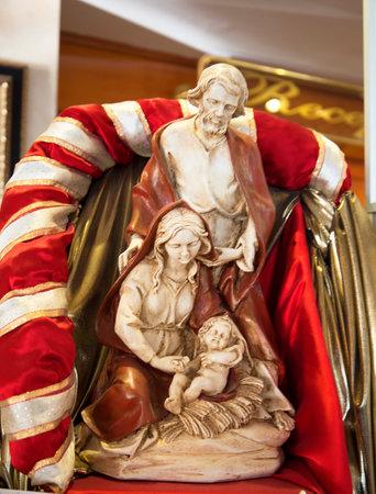 nerja: Christmas Nativity group in Nerja Spain
