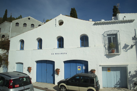 alpujarra: Frigiliana is an old Moorish village above Nerja on the Costa del Sol in Southern Spain