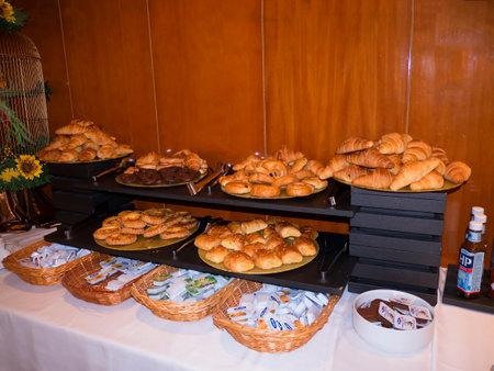 nerja: Food on Buffet in Nerja Spain Editorial
