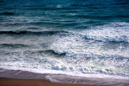 nerja: Beach scenes in Nerja, a sleepy Spanish Holiday resort on the Costa Del Sol  near Malaga, Andalucia, Spain