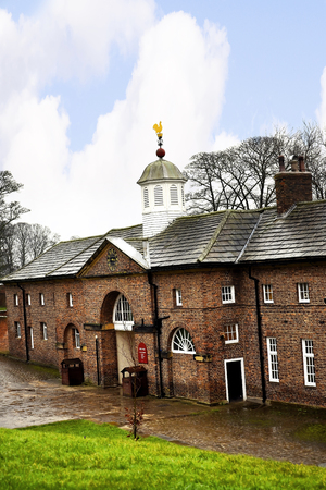 jacobean: Stable Block at Temple Newsam House in Leeds Yorkshire