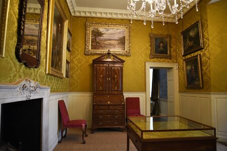jacobean: Beautiful period room in Temple Newsam House in Leeds Yorkshire