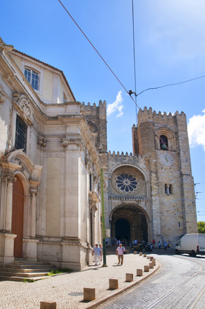 patriarchal: The Patriarchal Cathedral of St. Mary Major or Lisbon Cathedral known as the Se in Portugal