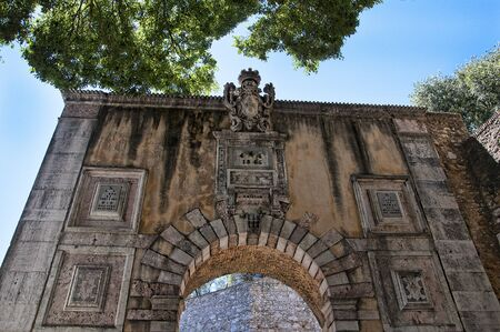 jorge: Sao Jorge Castle is a Moorish castle occupying a commanding hilltop overlooking the historic centre of the Portuguese city of Lisbon and Tagus River.