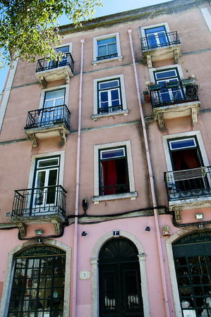 brenda kean: Buildings in the Alfama is the oldest district of Lisbon, it spreads down the southern slope from the Castle of So Jorge to the River Tagus