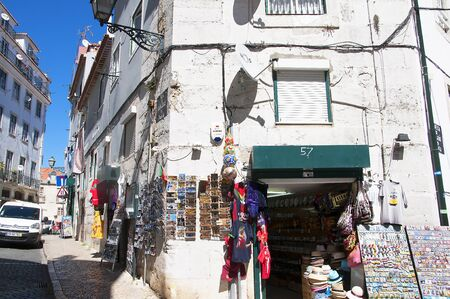 oldest: Alfama is the oldest district of Lisbon, it spreads down the southern slope from the Castle of So Jorge to the River Tagus